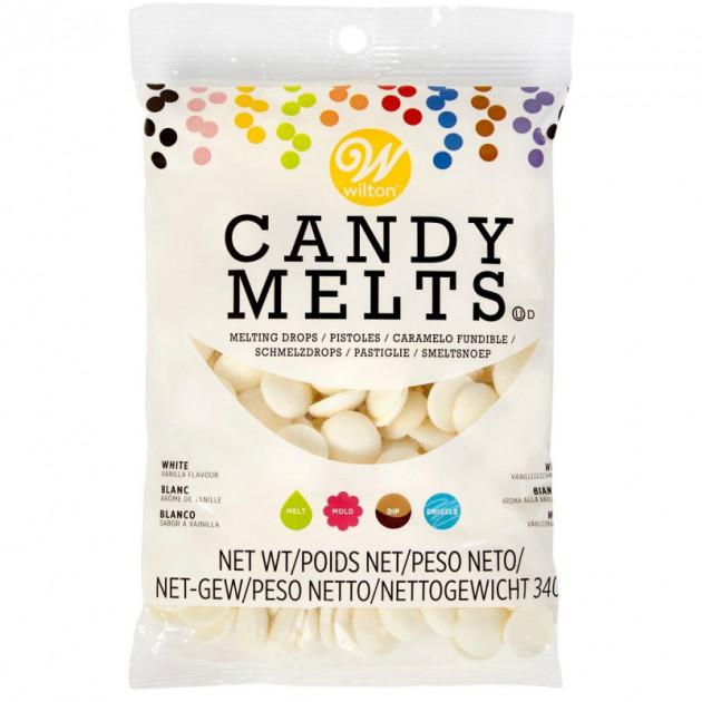 Candy Melts Blanc 340 g Wilton