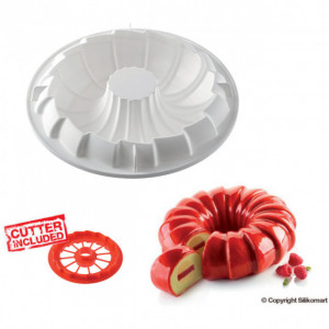 Kit Moule Silicone Red Tail Ø 240mm Silikomart