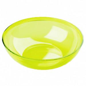 FIN DE SERIE Saladier Plastique Vert 3,5L Crokus