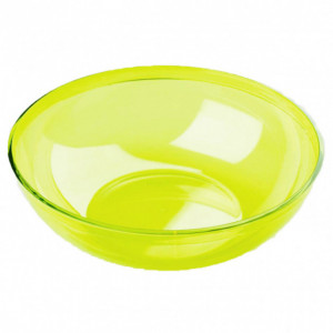 Saladier Plastique Vert 3,5L Crokus