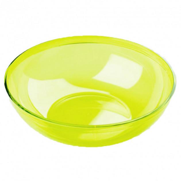 FIN DE SERIE Saladier Plastique Vert 3.5L Crokus