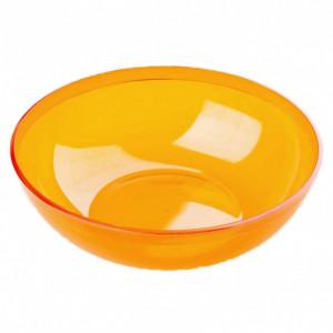 Saladier Plastique Orange 3,5L Crokus