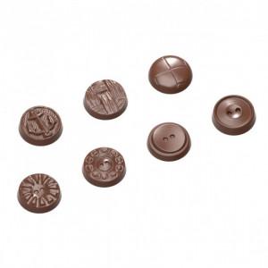 Moule Chocolat Boutons (x21) Chocolate World