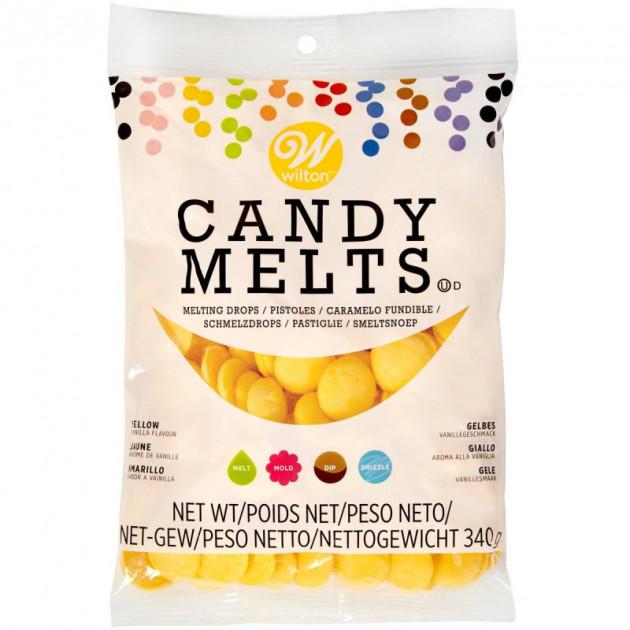 Candy Melts Jaune 340 g Wilton