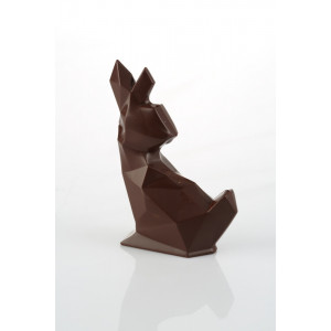 Moule à Chocolat Lapin Origami 11 cm Barry