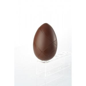 Moule à Chocolat Oeuf Strié 16 cm Barry