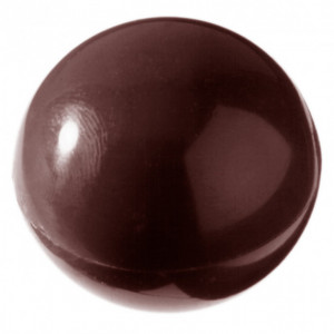 Moule à chocolat Demi-Sphère Ø3.9 cm (x15) Chocolate World
