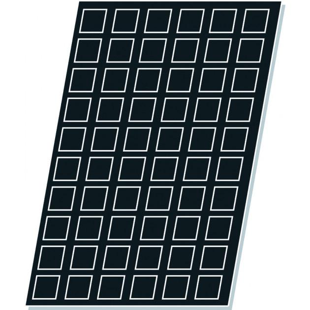 Carres - Plaque silicone et tissus de verre Flexipan