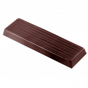Moule Chocolat Barre Rectangulaire (x10) Chocolate World