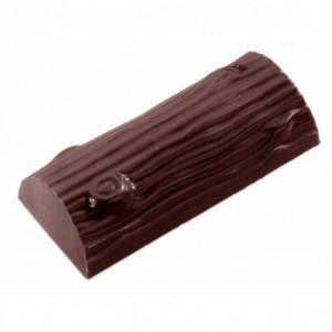 Moule Chocolat Bûche (x4) Chocolate World