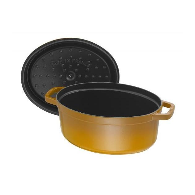 Cocotte ovale en fonte pour 4 personnes
