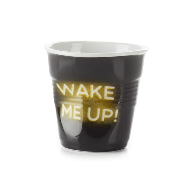 FIN DE SERIE Gobelet Froisse Neon Wake Me Up! 18cl Revol