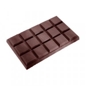 Moule Chocolat Tablette 15 Carrés (x1) Polycarbonate Chocolate World