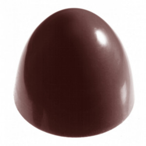 Moule Chocolat Dôme Ovale (x28) Chocolate World