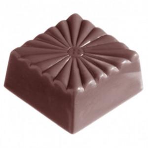 Moule Chocolat Carré Strié (x32) Chocolate World