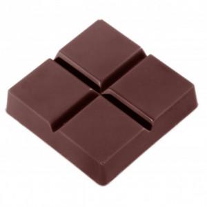 Moule Chocolat 4 Carrés (x18) Chocolate World