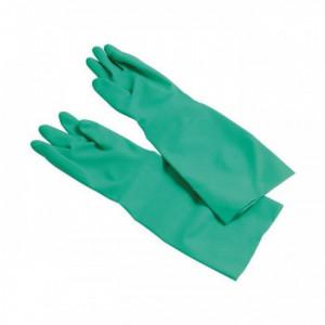 Gants Nitrile Vert Spécial Plonge Taille 9