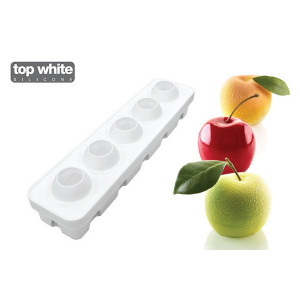 Moule Silicone 5 Fruits 115ml Silikomart Professional