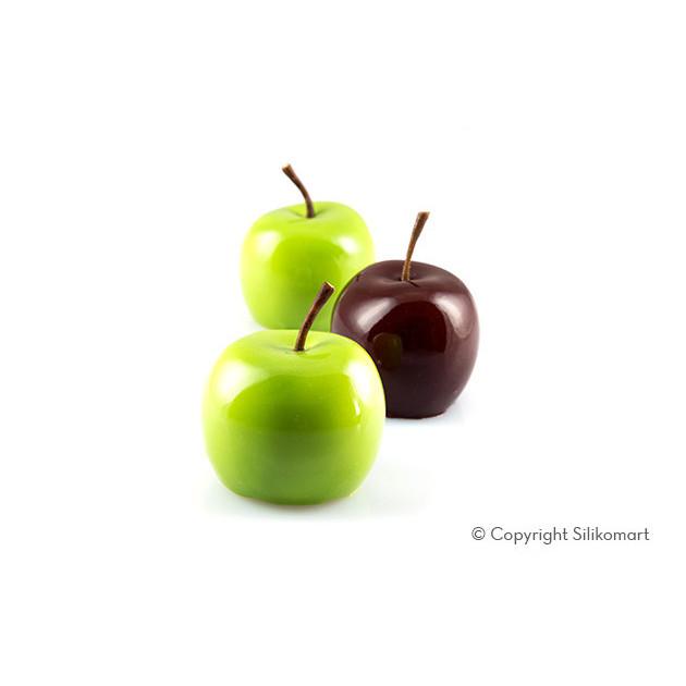 Pommes en Trompe l'Oeil avec le Moule Silicone Silikomart