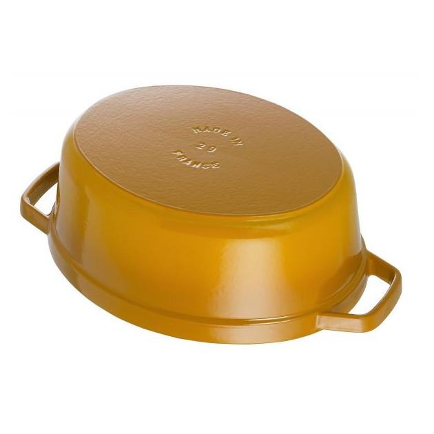 Cocotte en Fonte Staub Jaune 4.2 L