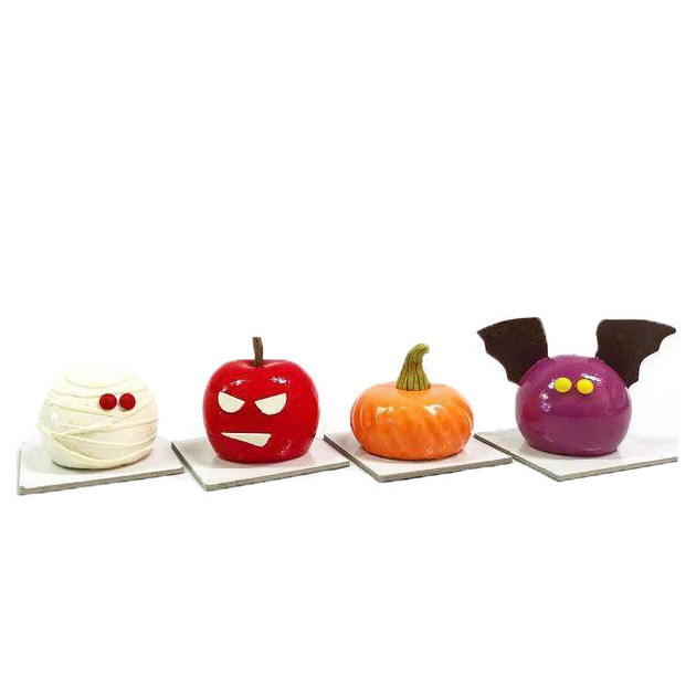 Pomme d'Halloween avec Moule Fruits 115 ml