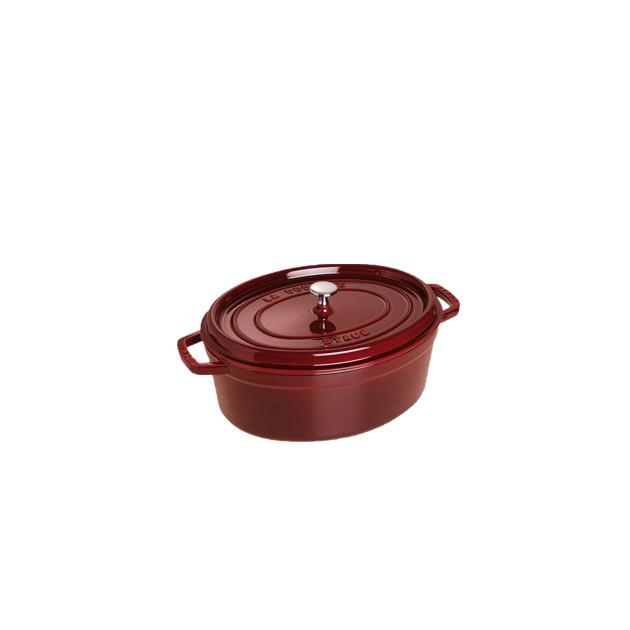 STAUB Cocotte Fonte Ovale 29 cm Grenadine Majolique 4.2 L