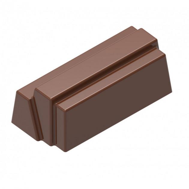 Moule Chocolat Bûchette Rectangle (x24) Chocolat Form