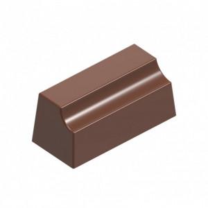 Moule Chocolat Bûchette Trapèzes (x24) Chocolat Form