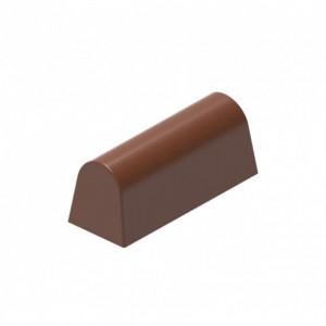 Moule Chocolat Bûchette Lisse (x16) Chocolat Form