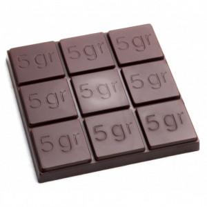 Moule Chocolat Tablette 9 Carrés (x6)