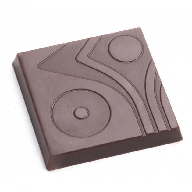 Moule Chocolat Carre Design (x18) Pop Chocolat