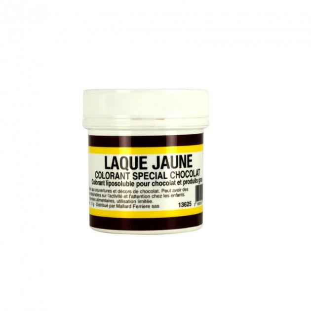 Colorant alimentaire Jaune E104 Poudre Liposoluble 15g