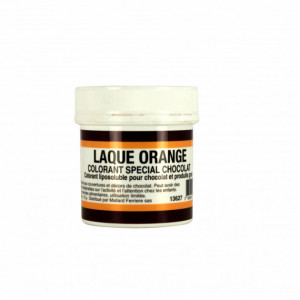 Colorant alimentaire Orange E110 Poudre Liposoluble 15g