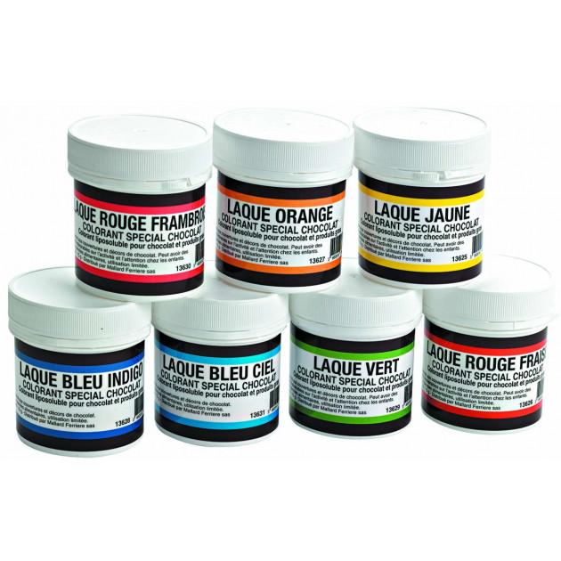 Colorants alimentaires en Poudre Liposoluble differents coloris