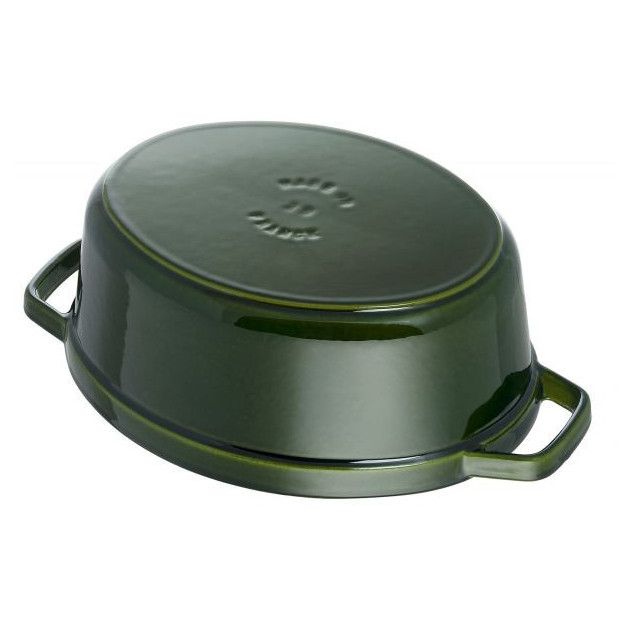 Cocotte Vert Basilic Made In France Staub