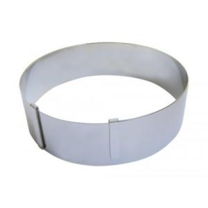 Cercle à Pâtisserie Extensible Ø18 à 36 cm Inox De Buyer