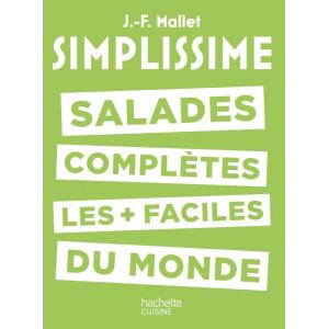 Livre de Cuisine Salades Complètes les + faciles du Monde, chez Hachette