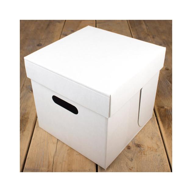 Boîte a Gateau Carre 25.5x25.5cm H.25cm (x1) Funcakes