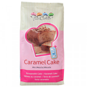 Préparation pour gâteau au caramel 1 kg Funcakes