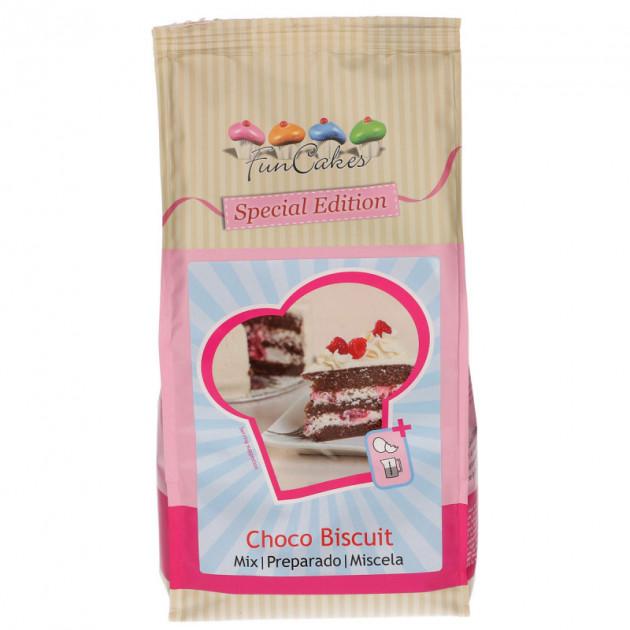 FIN DE SERIE Preparation pour Genoise au Chocolat 1 kg Funcakes
