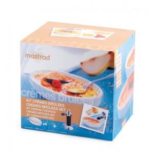 Coffret Crèmes Brûlées blanc Mastrad