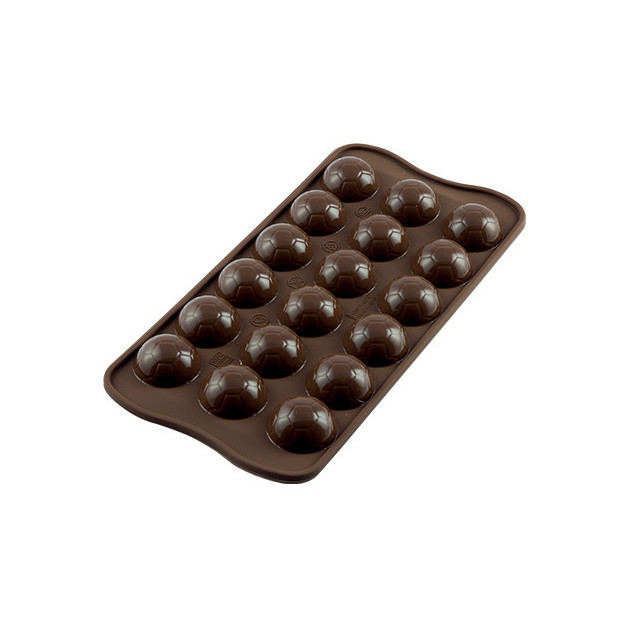 Moule a Chocolat 18 Ballons de Foot Easy Choc - Silicone Special Chocolat