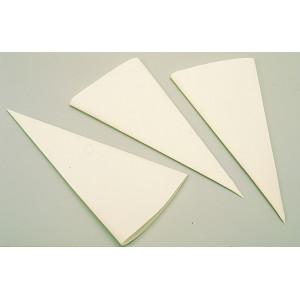 Cornet à écriture x 5 Tissu
