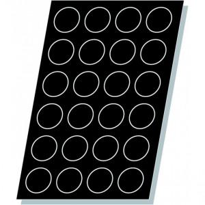 Tartelettes unies Flexipan - Moule silicone