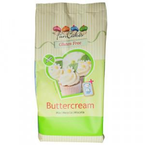 Préparation pour Crème au Beurre Sans Gluten 500 g Funcakes