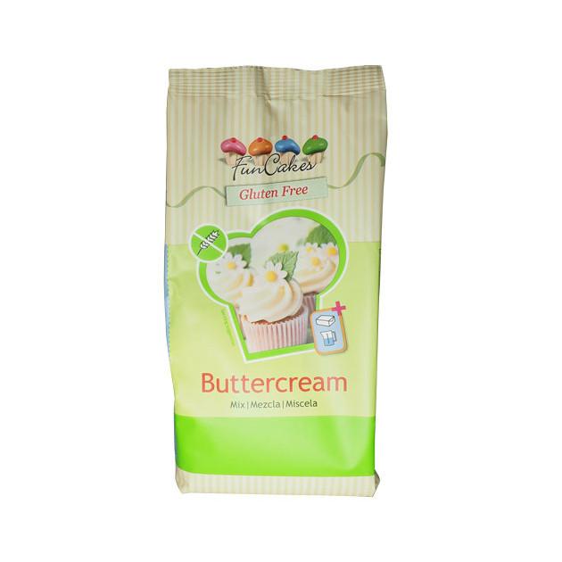 Preparation pour Creme au Beurre Sans Gluten 500 g Funcakes