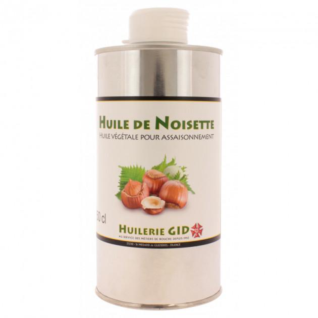 Huile de Noisette 500 ml - Gastronomique