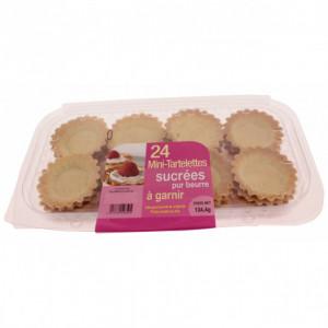 Mini-tartelettes sucrées à garnir (x24)