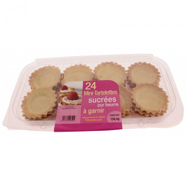 Mini-tartelettes sucrees a garnir (x24)