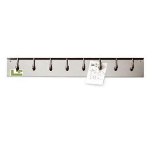 Porte Bon de Commande à ressorts Inox 62,5 cm Tellier